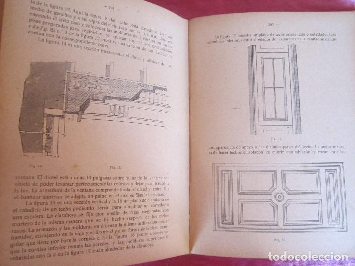 Libros antiguos: MANUAL DE CARPINTERÍA MODERNA - F.T. HODGSON 600 GRABADOS 1914 - Foto 13 - 116995827