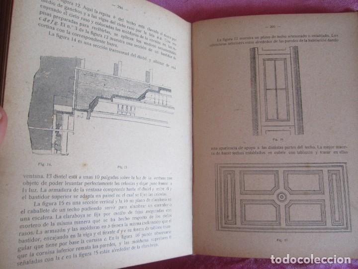 Libros antiguos: MANUAL DE CARPINTERÍA MODERNA - F.T. HODGSON 600 GRABADOS 1914 - Foto 17 - 116995827