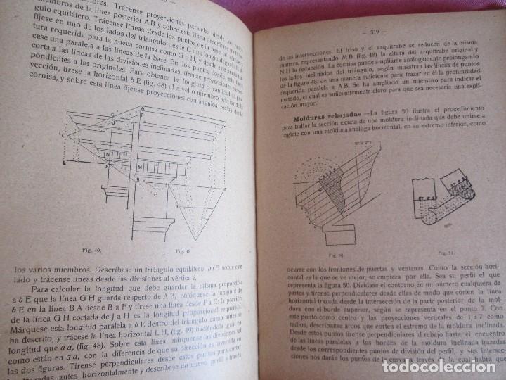 Libros antiguos: MANUAL DE CARPINTERÍA MODERNA - F.T. HODGSON 600 GRABADOS 1914 - Foto 18 - 116995827