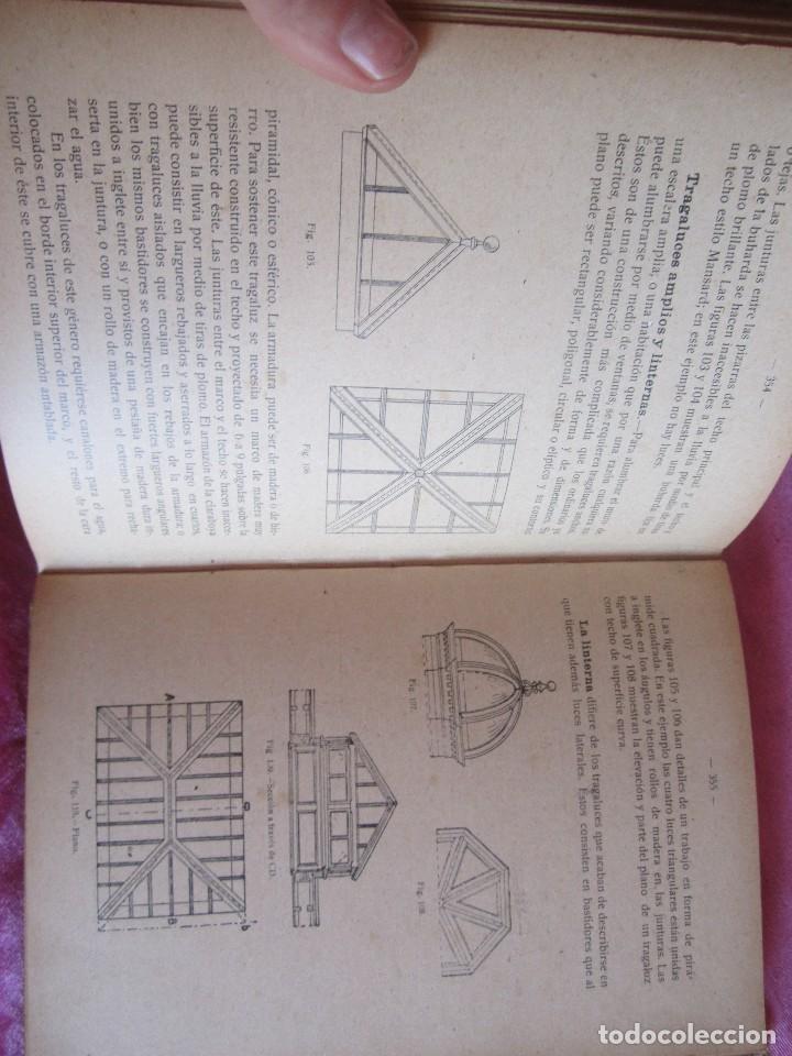 Libros antiguos: MANUAL DE CARPINTERÍA MODERNA - F.T. HODGSON 600 GRABADOS 1914 - Foto 19 - 116995827