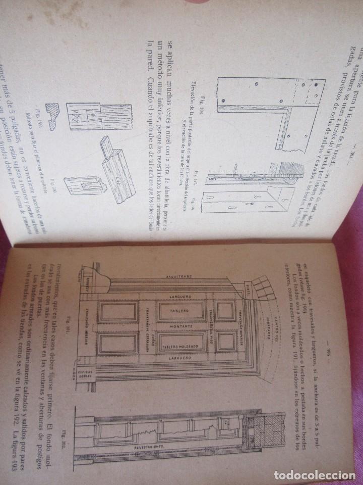 Libros antiguos: MANUAL DE CARPINTERÍA MODERNA - F.T. HODGSON 600 GRABADOS 1914 - Foto 20 - 116995827