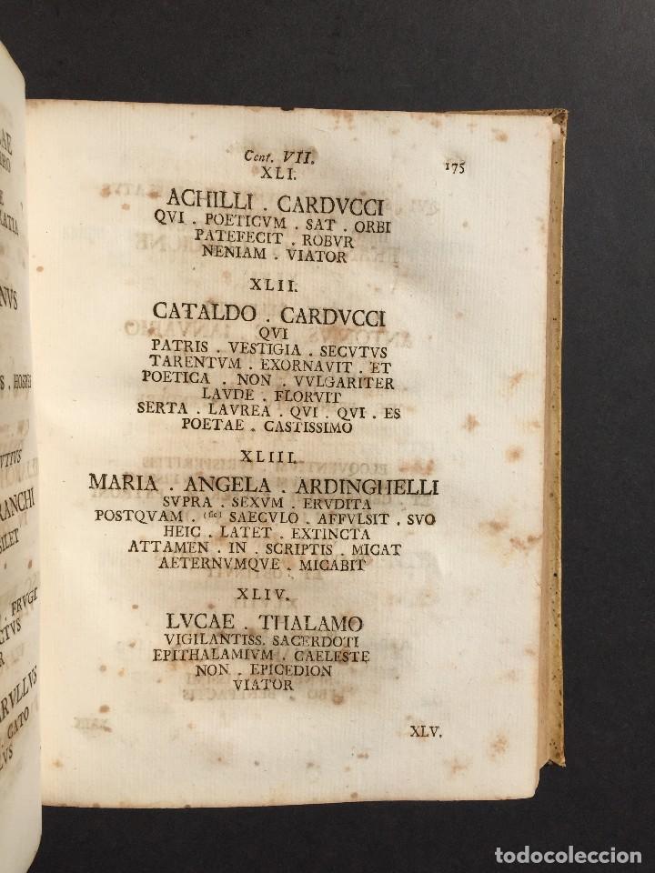 Libros antiguos: 1781 - Sepulcretum Amicabile - Rarisimo libro que contiene 1900 epitafios - Cementerio - Foto 19 - 117013087