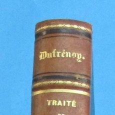 Libros antiguos: TRAIT´DE MINÉRALOGIE. A. DUFRÉNOY. TOMO V. ATLAS. PARIS 1856. 60 + 236 PÁGINAS DE LÁMINAS. HOLANDESA. Lote 117023727