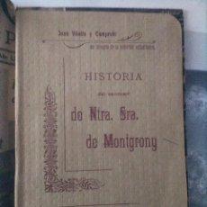 Libros antiguos: MONTGRONY. Lote 117214215