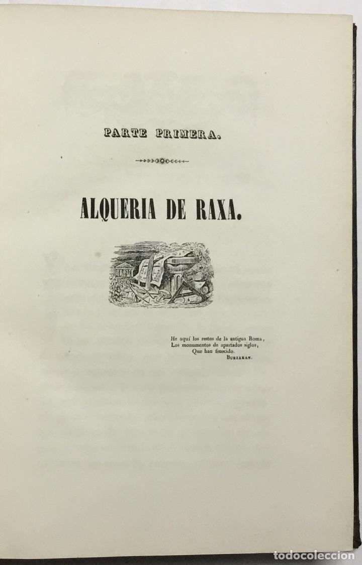 Libros antiguos: NOTICIA DE LOS MUSEOS DEL SEÑOR CARDENAL DESPUIG EXISTENTES EN MALLORCA. - BOVER, Joaquín María. - Foto 4 - 114797999