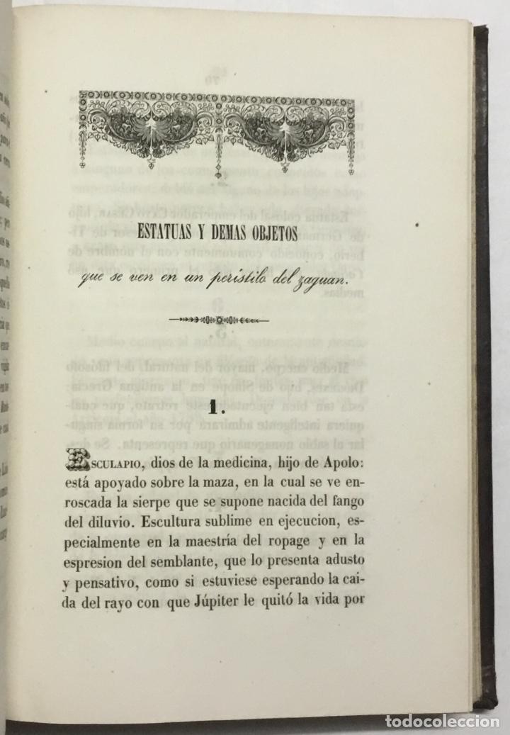Libros antiguos: NOTICIA DE LOS MUSEOS DEL SEÑOR CARDENAL DESPUIG EXISTENTES EN MALLORCA. - BOVER, Joaquín María. - Foto 5 - 114797999