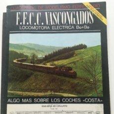 Libros antiguos: CUADERNOS FERROVIARIOS. Lote 117303887
