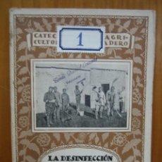 Libros antiguos: CATECISMO DEL AGRICULTOR Y GANADERO. CALPE. LA DECIFECCION EN GANADERÍA. Lote 117423791