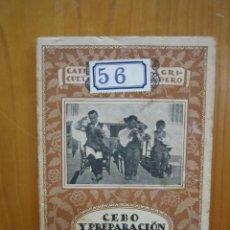 Libros antiguos: CATECISMO DEL AGRICULTOR Y GANADERO. CALPE. CEBO Y PREPARACIÓN DE AVES. Lote 117425279