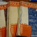 Libros antiguos: PALADAR, REVISTA DE COCINA, DEL Nº 17 AL Nº 25, DE ENERO A MAYO DE 1934. Lote 117498875