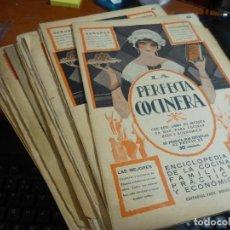 Alte Bücher - la perfecta cocinera, enciclopedia cocina familiar economica, 32 numeros - 117504619