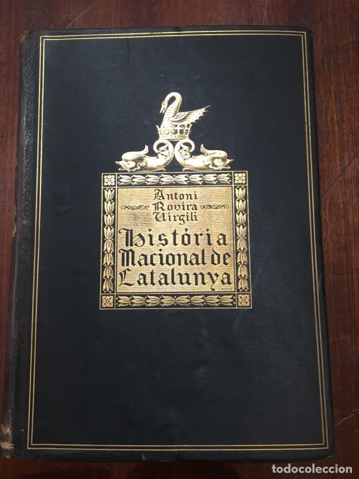 Libros antiguos: HISTÒRIA NACIONAL DE CATALUNYA - A. ROVIRA I VIRGILI (1922-1934) - Foto 3 - 117639531