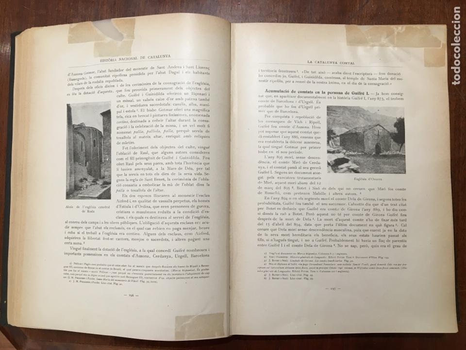 Libros antiguos: HISTÒRIA NACIONAL DE CATALUNYA - A. ROVIRA I VIRGILI (1922-1934) - Foto 5 - 117639531