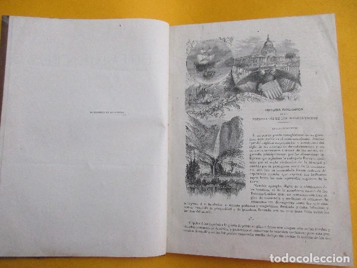 Libros antiguos: HISTORIA BIOGRÁFICA DE LOS PRESIDENTES DE LOS ESTADOS UNIDOS.E. L. DE VERNEUILL. 1885. 289 PÁGINAS. - Foto 2 - 117641615