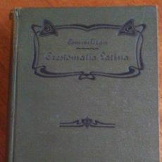 Libros antiguos: AUTORES SAGRADOS Y PROFANOS : FRANCISCO COMMELERÁN: AÑO 1.913. PIEL EDITORIAL. Lote 117662719