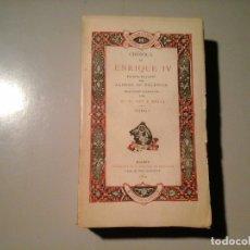 Libros antiguos: ALONSO DE PALENCIA. CRÓNICA DE ENRIQUE IV.TRAD: PAZ Y MELIA. TOMO I. REV. ARCHIVOS 1904. RARO.. Lote 117685915