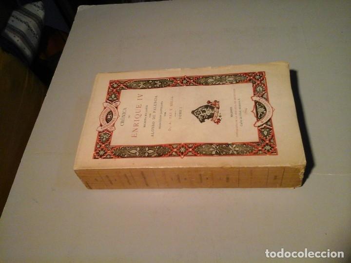 Libros antiguos: ALONSO DE PALENCIA. CRÓNICA DE ENRIQUE IV. TRAD: PAZ Y MELIA. TOMO I. 1ª EDICIÓN 1904. RARO. - Foto 2 - 117685915