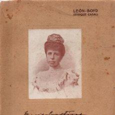 Libros antiguos: EL AÑO ARISTOCRÁTICO (COMPENDIO DE LA VIDA DE SOCIEDAD) 1916-1917. LEÓN-BOYD (ENRIQUE CASAL). Lote 117801991