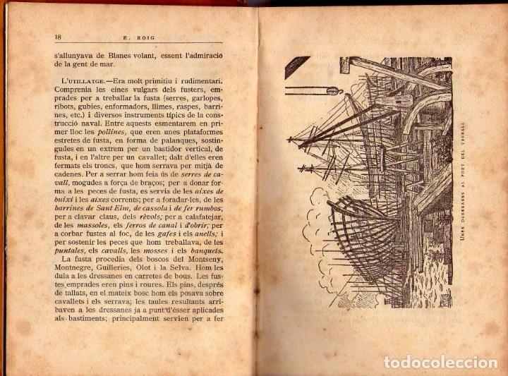Libros antiguos: LA MARINA CATALANA DEL VUITCENTS *** EMERENCIA ROIG *** EDITORIAL BARCINO 1929 - Foto 3 - 117825511