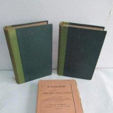 Libros antiguos: EL BANDOLERISMO. TOMO I-II-V. ESTUDIO SOCIAL Y MEMORIAS HISTORICAS. JULIAN DE ZUGASTI. . Lote 117956143
