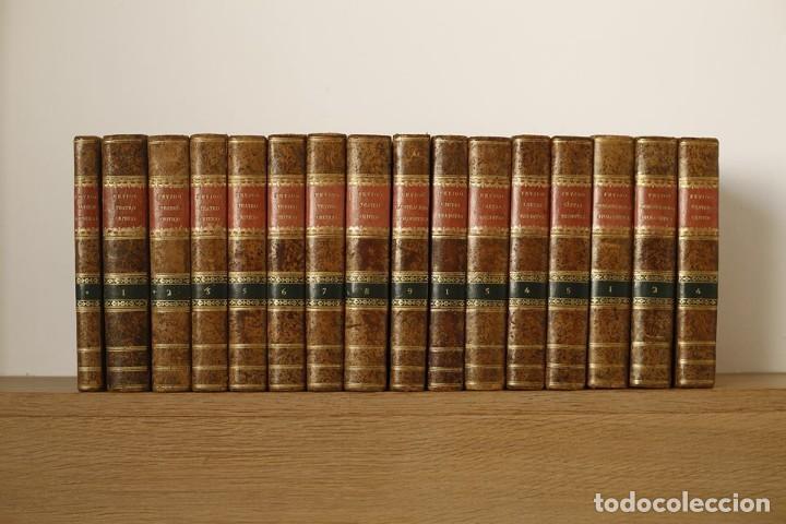 TEATRO CRITICO UNIVERSAL O DISCURSOS VARIOS EN TODO GÉNERO DE MATERIAS / FEYJOO / 16 VOLÚMENES 1784 (Libros Antiguos, Raros y Curiosos - Literatura - Otros)