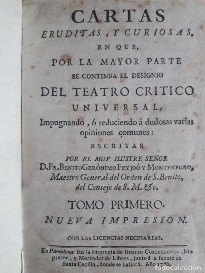 Libros antiguos: TEATRO CRITICO UNIVERSAL O DISCURSOS VARIOS EN TODO GÉNERO DE MATERIAS / FEYJOO / 16 VOLÚMENES 1784 - Foto 3 - 117977131