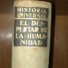 Libros antiguos: HISTORIA UNIVERSAL 1932 ESPASA CALPE 10 TOMOS . Lote 118072939