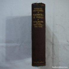 Libros antiguos: BARRERA DE FUEGO. BREVE HISTORIA DE LA GRAN GUERRA (1914-1918) - WERNER BEUMELBURG - 1931 - 1.ª ED.. Lote 118228859