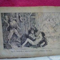 Libros antiguos: TUBAL 1872 EROTICA PAUL DE KOCK LAS MUJERES EL JUEGO Y EL VINO 18 CM 400 GRS PSICALIPTICA. Lote 131190036