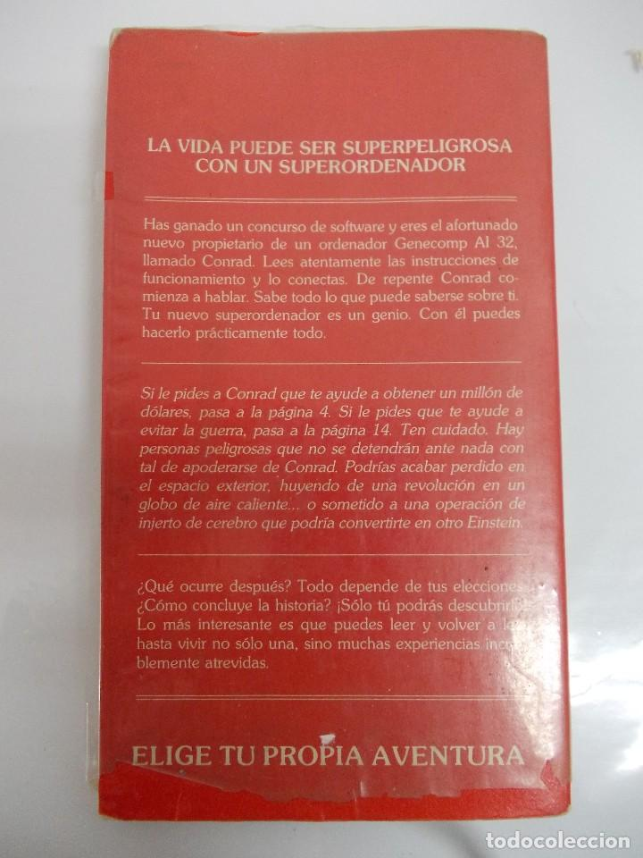 Libros antiguos: ELIGE TU PROPIA AVENTURA. SUPERORDENADOR. TIMUN MAS - Foto 2 - 118309927