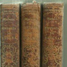 Libros antiguos: 3744.- HISTORIA GENERAL DE ESPAÑA PADRE MARIANA-GASPAR Y ROIG EDITOR BARCELONA 1852/1853. Lote 118379799