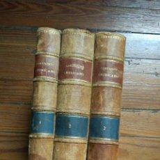 Libros antiguos: EL CONTINENTE AMERICANO. CONFERENCIAS DADAS EN EL ATENEO CIENTÍFICO DE MADRID. 3 VOL. 1894. Lote 118471011