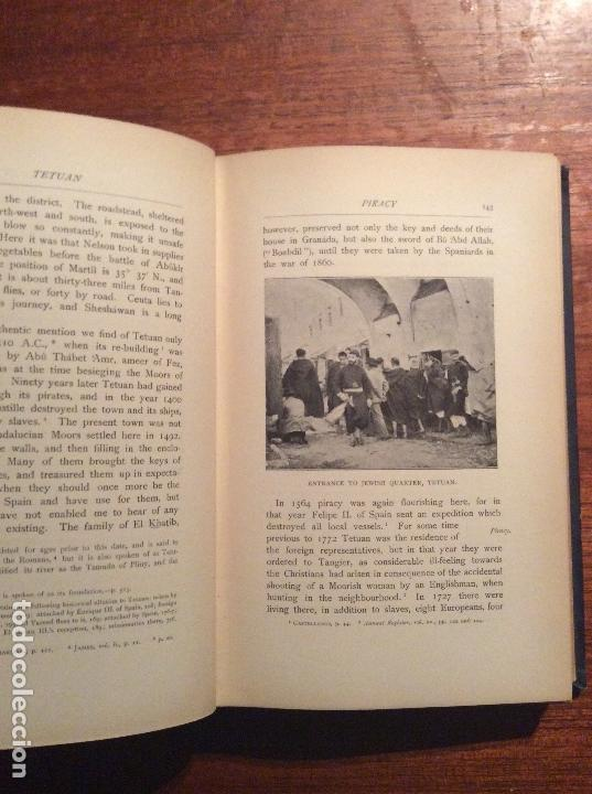 Libros antiguos: THE LAND OF THE MOORS - Foto 5 - 118485427