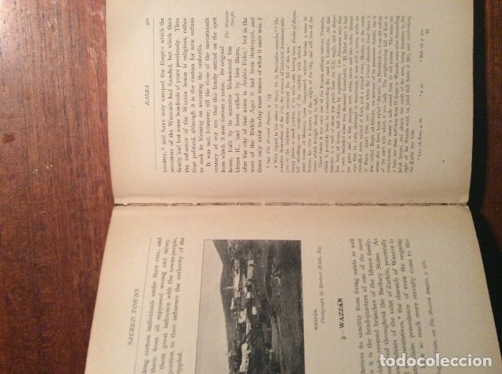 Libros antiguos: THE LAND OF THE MOORS - Foto 6 - 118485427