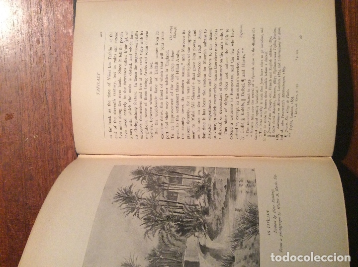 Libros antiguos: THE LAND OF THE MOORS - Foto 7 - 118485427
