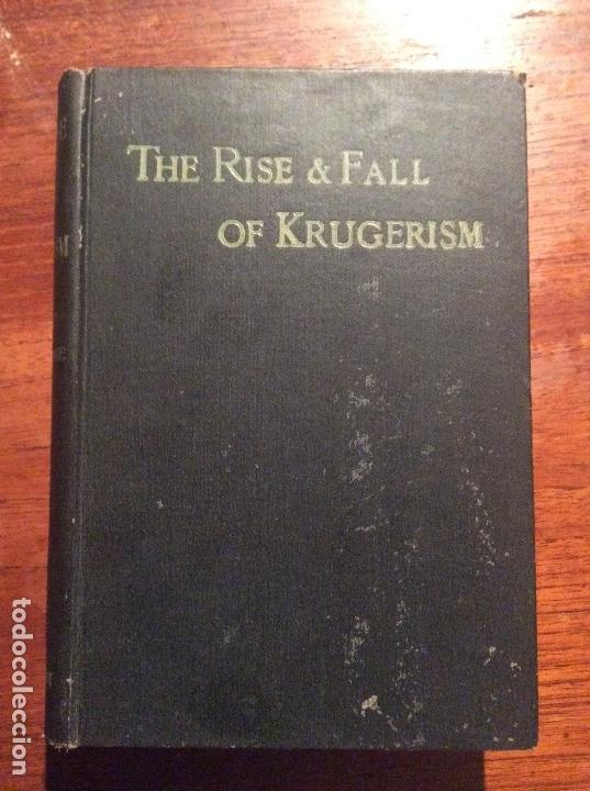 Libros antiguos: THE RISE AND FALL OF KRUGERISM - Foto 1 - 118487691