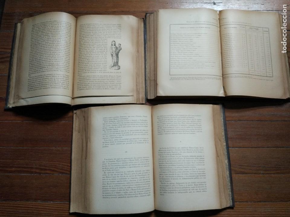 Libros antiguos: El Continente Americano. Conferencias dadas en el Ateneo Científico de Madrid. 3 Vol. 1894 - Foto 4 - 118471011