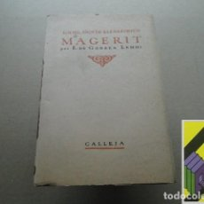 Libros antiguos: GORBEA LEMMI, E. DE: LOS MIL AÑOS DE ELENA FORTUN. MAGERIT. Lote 118534295
