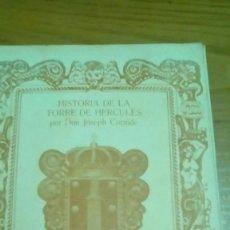 Libros antiguos: HISTORIA DE LA TORRE DE HÉRCULES, JOSEPH CORNIDE, EDICIÓN 1980 BANCO DE BILBAO. Lote 118545259