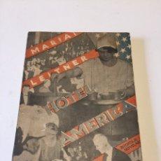 Libros antiguos: HOTEL AMERICA. MARÍA LEITNER. ED. CENIT, 1931. COLLAGE CUBIERTA DE JOHN HEARTFLELD. Lote 118549702