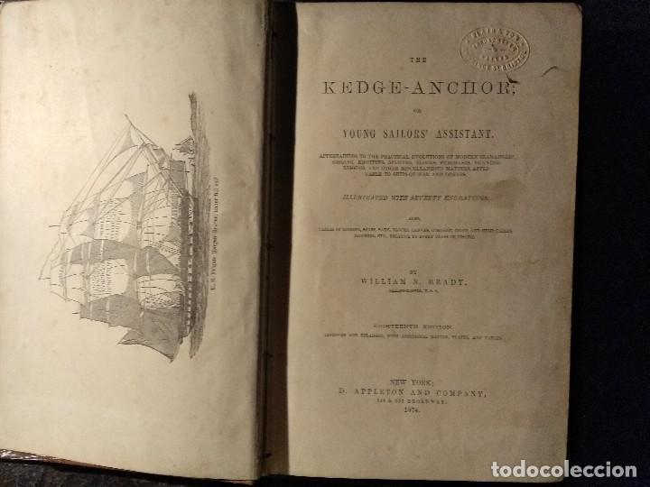BRADY, W. THE KEDGE ANCHOR OR YOUNG SAILORS' ASSISTANT 1874 APAREJO Y MANIOBRA DE VELEROS (Libros Antiguos, Raros y Curiosos - Ciencias, Manuales y Oficios - Otros)