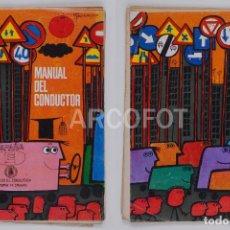 Libros antiguos: MANUAL DEL CONDUCTOR - DIBUJOS DE GARBAYO - 1970. Lote 118573131