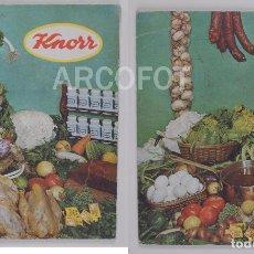Libros antiguos: LIBRO DE RECETAS KNORR - 1966. Lote 118574323