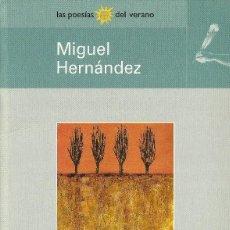 Libros antiguos: VIENTO DEL PUEBLO - ANTOLOGIA POETICA - MIGUEL HERNANDEZ. Lote 118583639