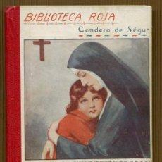 Libros antiguos: BIBLIOTECA ROSA CONDESA DE SEGUR - FRANCISCO EL JOROBADO. Lote 118651143