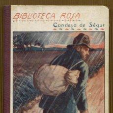 Libros antiguos: BIBLIOTECA ROSA CONDESA DE SEGUR - ELOY EL VAGABUNDO. Lote 118651535