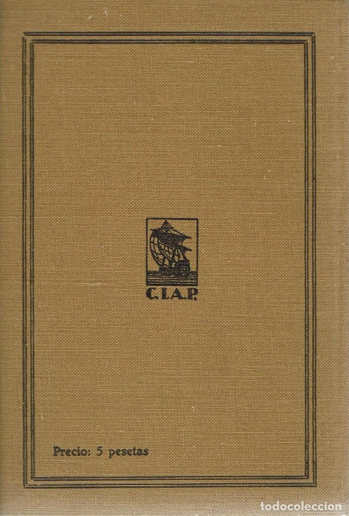 Libros antiguos: BARCOS Y PUERTOS, POR FEDERICO GARCÍA SANCHÍZ. AÑO 1930 (10.3) - Foto 2 - 118685459