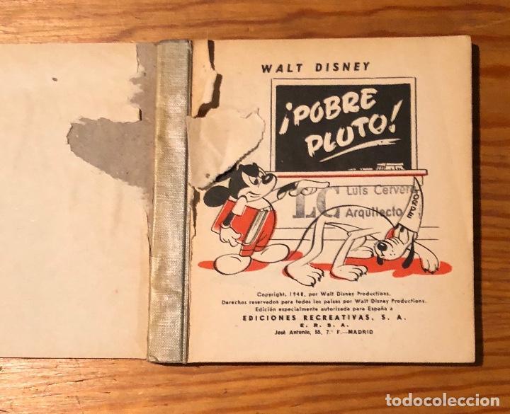 Libros antiguos: Pobre Pluto(9€) - Foto 2 - 118740807