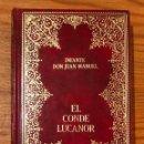 Libros antiguos: EL CONDE LUCANOR. INFANTE DON JUAN MANUEL(35 €). Lote 118742299