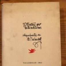 Libros antiguos: SIETE POETAS VALLISOLETANOS(53€). Lote 118744751